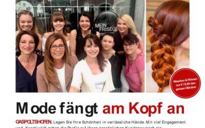 Artikel im Weekend Magazin über unseren Salon in Gaspoltshofen
